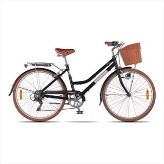 Bicicleta Rodado 26 Aurora Vita. Vintage. Alum. Acc O1