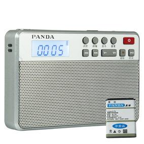 Rádio Panda 6207 Am/fm Dsp Suporte Cartão Tf Leitor Mp3
