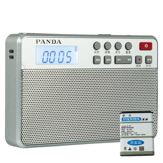 Rádio Receptor Panda 6207 Am/fm Dsp Leitor Mp3 Frete Grátis