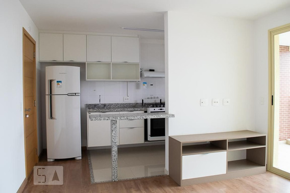 Apartamento No 8º Andar Mobiliado Com 1 Dormitório E 1 Garagem - Id: 892947880 - 247880
