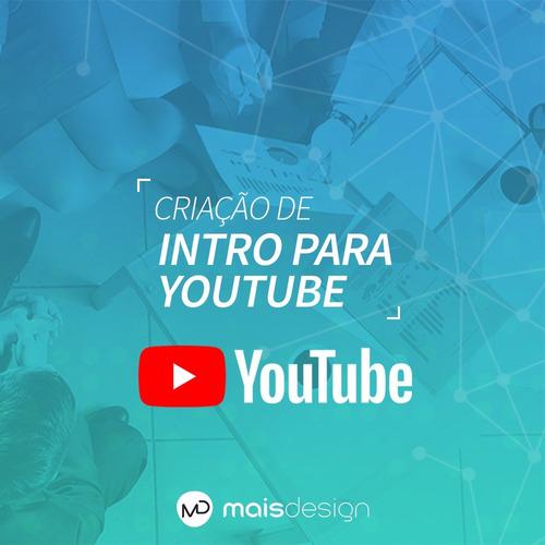 Criação De Vinheta / Intro / Abertura Youtube