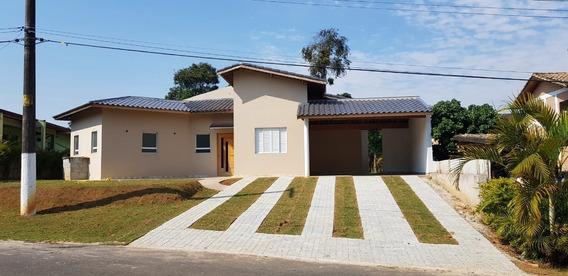 Casa Para Alugar Nova - Condomínio Fazenda Da Ilha - Embu Guaçu - 188 - 33922790