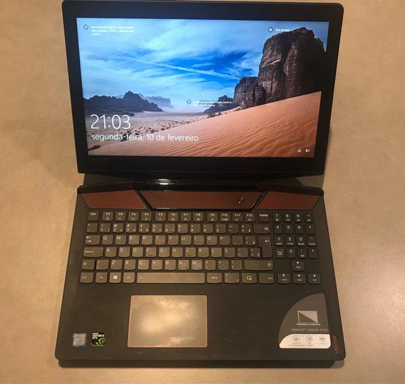 Notebook Gamer Legion Y720 I7 7700hq Geforce Gtx 1060 Hd2t