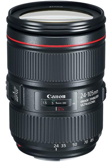 Lente Canon Ef 24-105mm F4l Is Ii Usm 1 Ano De Garantia