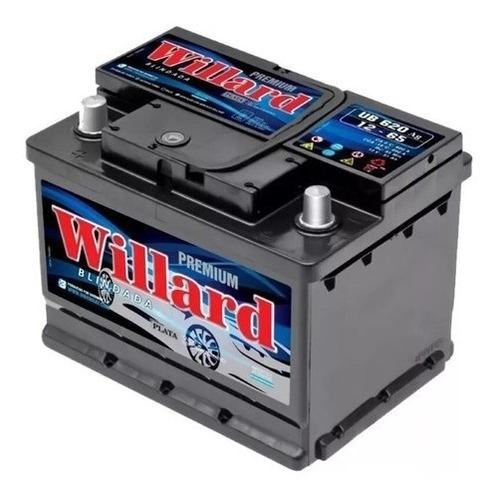 Imagen 1 de 2 de Bateria Willard 60 Amperes 12v Calcio Plata Blindada
