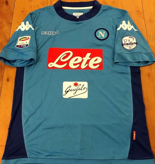 Camisa Napoli Hamsik #17 Maior Artilheiro Da História