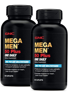 Multi Vitamina Mega Men 50 Plus - Envase De 120 Caps