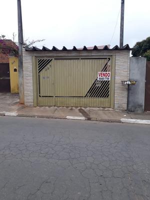 Casa Com 5 Comodos E 3 Banheiros,2 Vagas