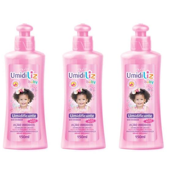 Muriel Umidiliz Baby Umidificante S/enxague 150ml (kit C/03)