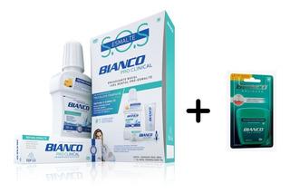 Kit Sos Creme Dental E Enxaguante + Fio Dental Delicare