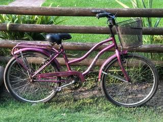 Bicicleta De Paseo, Rodado 24