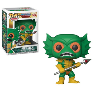 Funko Pop Masters Of The Universe Merman Original Stock Nuev