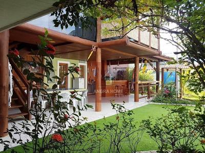 Casa Residencial Para Venda E Locação, Praia Da Ribeira (cunhambebe), Angra Dos Reis. - Ca0549
