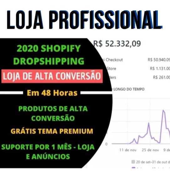 Loja Shopify Completa Alta Conversão + Super Mentoria
