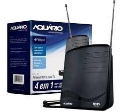 Antena Digital Dtv 1100 Aquário 1,5mt Cabo ( Interna )