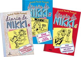 ** Combo Diario De Nikki 4 , 5 Y 6 ** Rachel Renee Russell