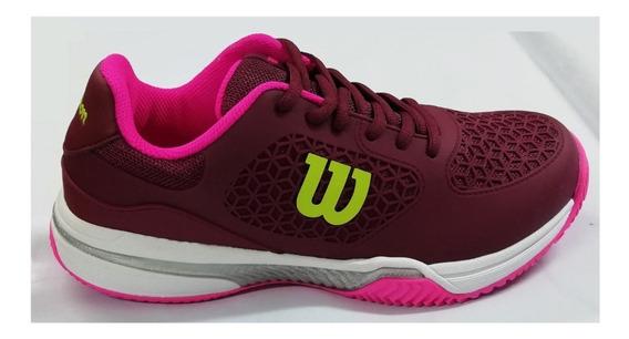 Zapatillas Tenis Padel Wilson Match Mujer Baires Deportes
