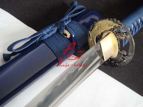 Imagem 1 de 10 de Espada Samurai Katana Com Corte Autêntica Original Afiada