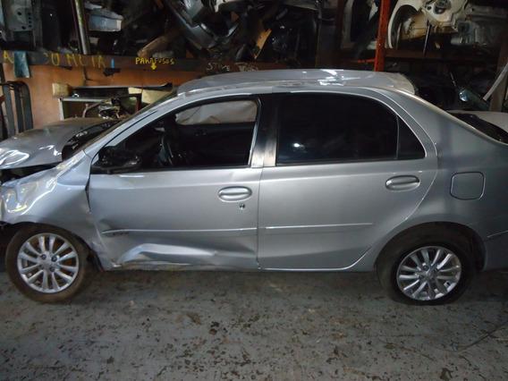 Sucata Toyota Etios 1.5 5p Somente Para Retirada De Pecas