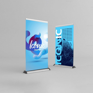 Roll-up Porta Banner 0,85x2,25m Arte Inclusa Não Compre Leia