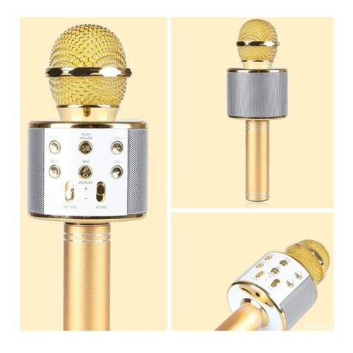 Microfono Inhalambrico Bluetooth Karaoke / *soy Tienda*