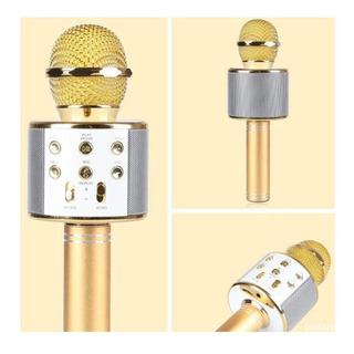 Microfono Inhalambrico Bluetooth Karaoke / Soy Tienda