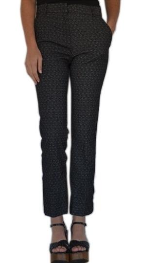 Pantalón De Vestir Mujer H&m Jacquard Moda