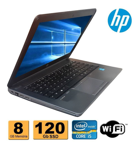 Notebook Hp Probook 640 G1 I5 4ª 8gb Ssd 120gb Wifi