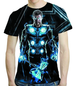 Camisa Avengers Camiseta Ultimato Thor Vingadores Endgame