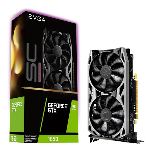 Tarjeta De Video Evga Gtx 1650 4gb Sc Ultra