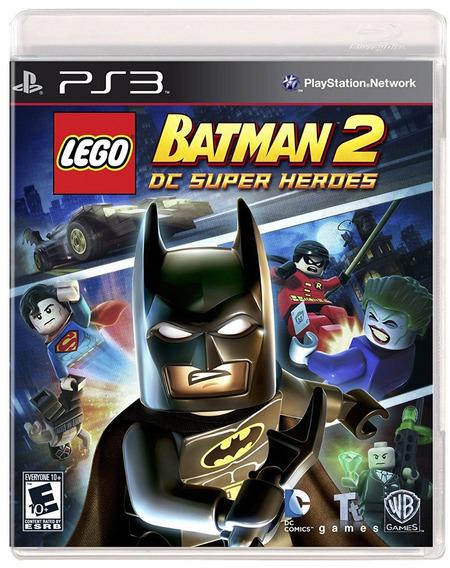 Lego Batman 2 Ps3 - Mídia Física | Com Garantia Playgorila