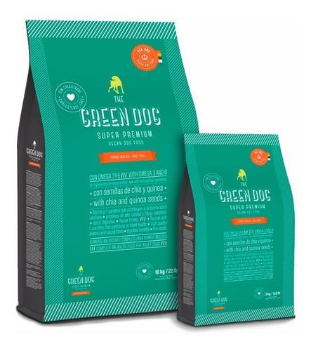 The Green Dog Alimento Vegano Para Perros 10kg Mordida Peq