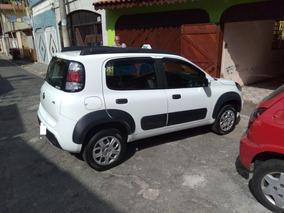 Fiat Uno 1.0 Way Flex 5p, Transfiro Cadastro Com Ponto.