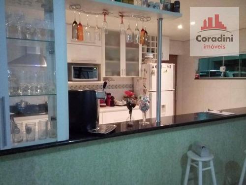 Imagem 1 de 9 de Casa Com 4 Dormitórios À Venda, 307 M² Por R$ 1.100.000,00 - Residencial Imigrantes - Nova Odessa/sp - Ca0944
