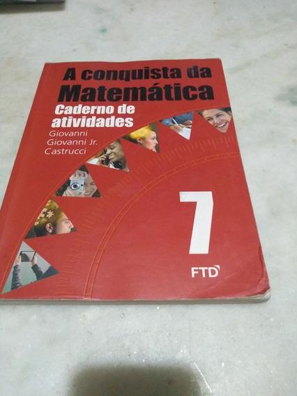 A Conquista Da Matemática 7 Caderno De Exercícios