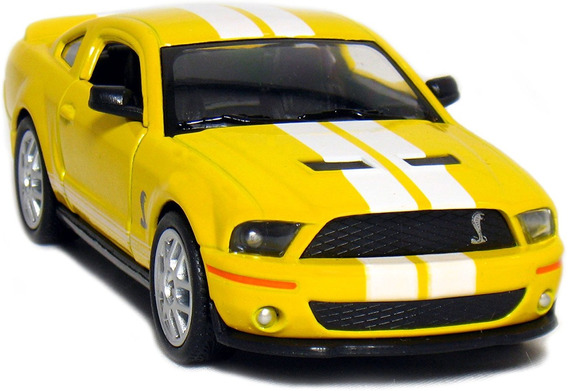 Auto 2007 Shelby Gt500 Ford 1/38 Coleccion Rdf1