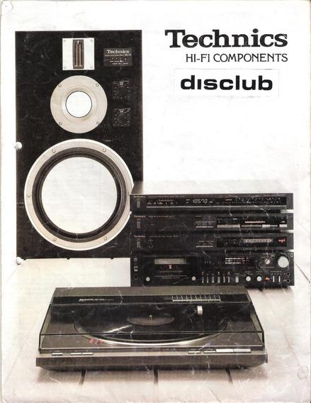 Catalogo Technics Audio Componentes Hi-fi Japon 1980 (pdf)