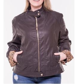 2b5467554 Casaco Feminino Inverno Plus Size - Casacos para Feminino Marrom em ...