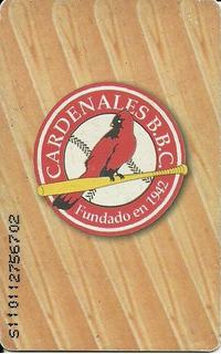 Tarjeta Telefónica Colección Cardenales De Lara