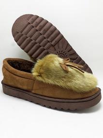 Pantufa Sapato Pele Sintética