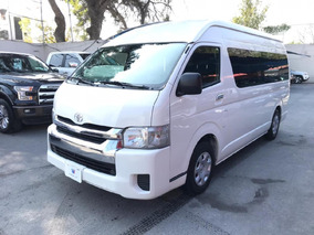 Toyota Hiace 5p L4/2.7 Man 15/pas Equipada P/viaje