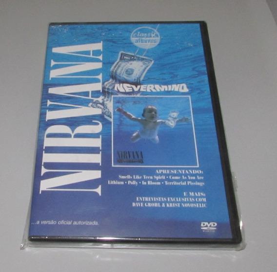 Nirvana Nevermind Classic Álbum 2005 Dvd Original Novo