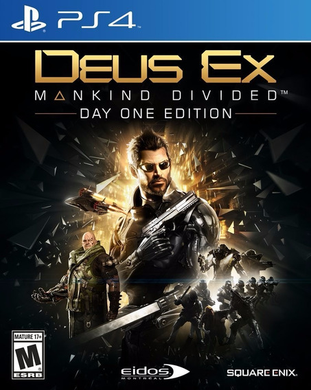 Deus Ex Mankind Divided - Day One Edition - Ps4