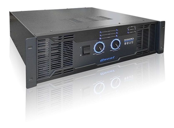 Amplificador 1800w 8 Ohms - 5500 Pro Oneal