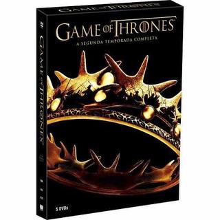 Box Dvd Game Of Thrones 2° Temporada- Lacrado- Frete Grátis