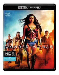 Wonder Woman Bluray 4k Nuevo Stock Importado
