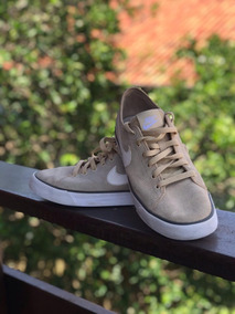 Tênis Nike Primo Court Canvas Casual Beje Tam. 39