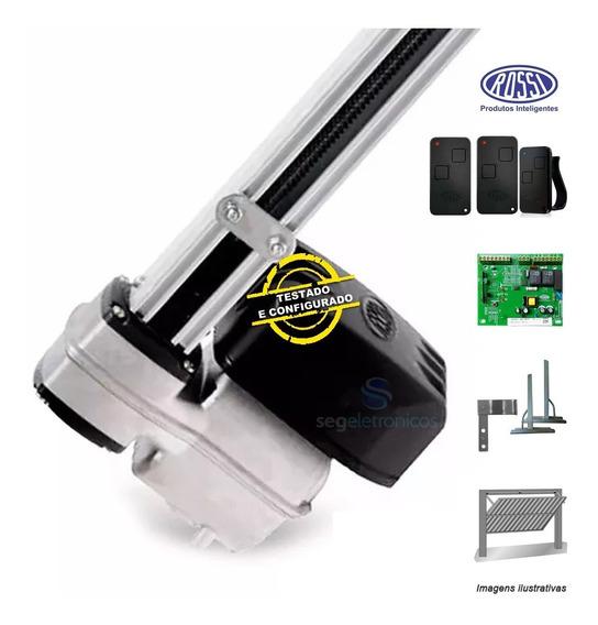 Motor Nano Rossi Basculante 1/4hp Com 3 Controles + Suporte