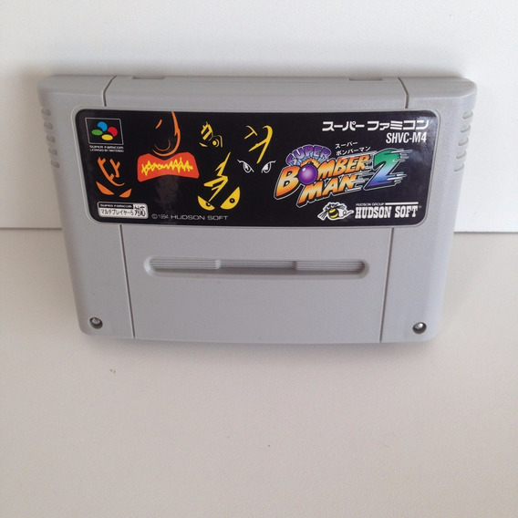 Cartucho Super Bomberman 2 Original - Super Nintendo - Snes