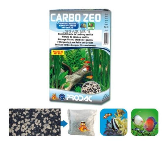 Prodac Carbozeo Para Aquários 700g Carvão Ativado + Zeolita